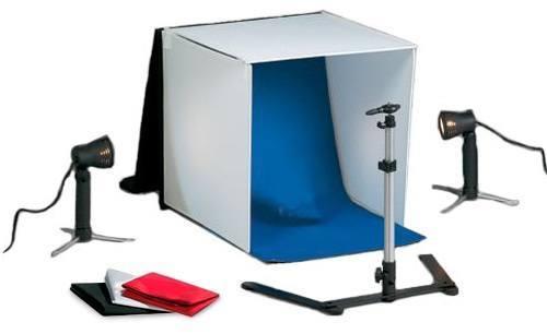 Estudio Fotográfico Portátil 40.6x40.6x40.6cm