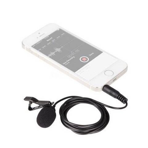 Micrófono lavalier Boya BY-LM10 para smartphones y iPad