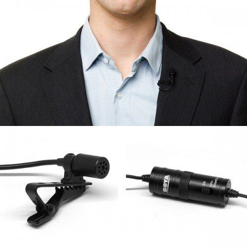Boya BY-M1 Omni Directional Lavalier Microphone + 2.5mm Adapter