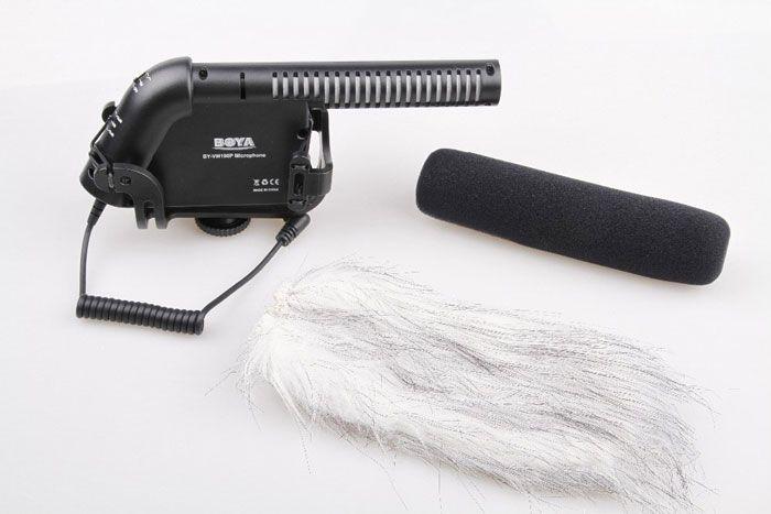 Boya BY-VM190 Condenser Shotgun Microphone
