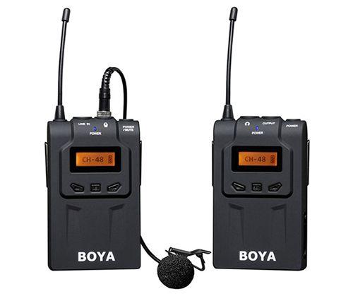 Boya BY-WM6  UHF Microphone System + 2.5mm Adapter