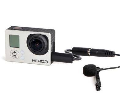 Micrófono Lavalier Boya BY-LM20 para GoPro