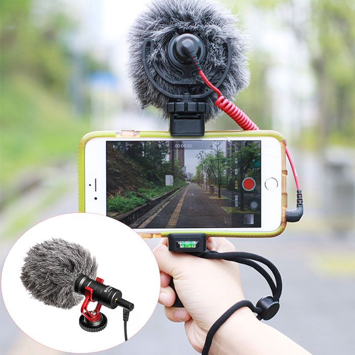 Boya BY-MM1 Cardiod Microphone + 2.5mm Adapter