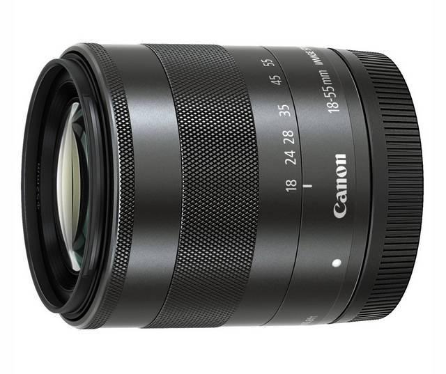 Resultado de imagen para Lente EF-M 18-55mm f3.5-5.6 IS STM