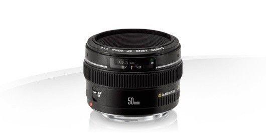 Canon EF USM 50mm f1,4 Lens