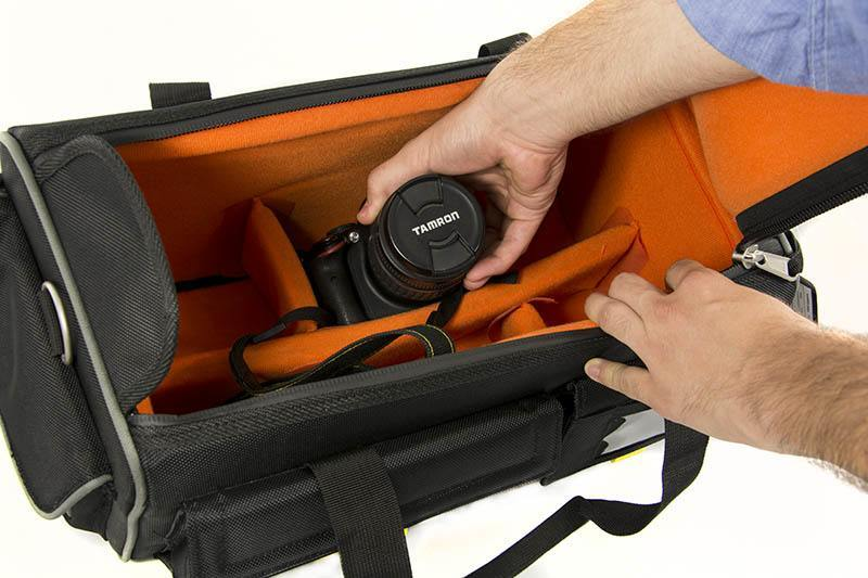 Fancier Black Shield 20 Video Transport Bag