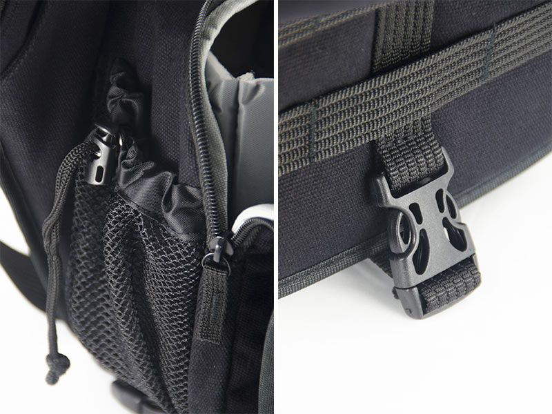 Fancier Delta 400a L Black Bag