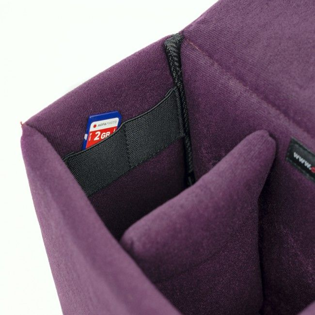 Shell 50 Padded Removable Bag Purple