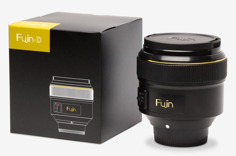 Fujin D F-L001 Objetivo aspirador de sensor Nikon