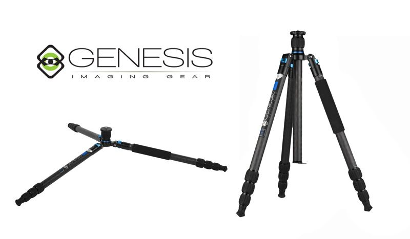 Genesis Base C5 Tripod + BH-40 Ball-Head Blue