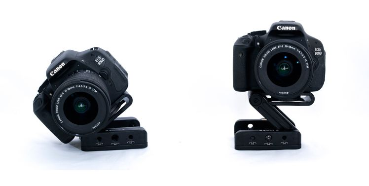Gloxy Z Flex Tilt Head Camera Bracket