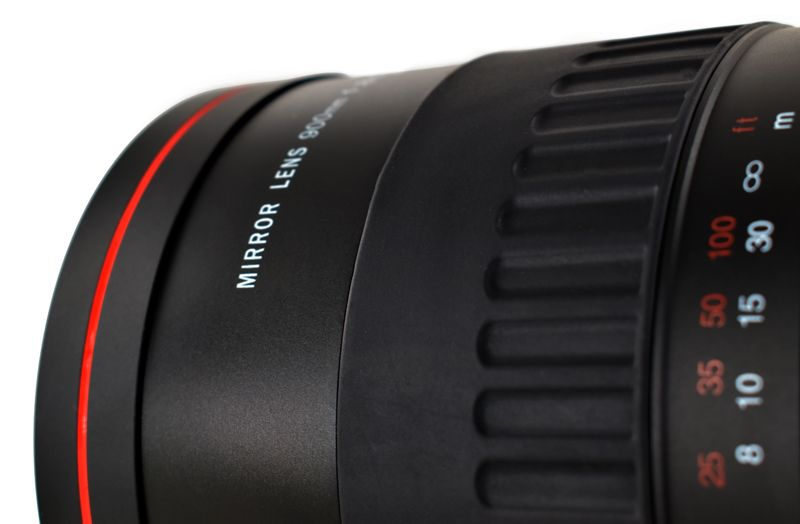 Telephoto Lens Gloxy 900mm f/8.0 for Olympus PEN E-P2