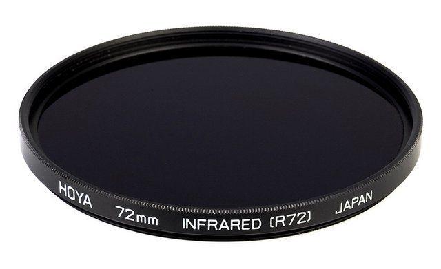 Filtro Infrarrojo Hoya R72 para Canon EOS 1000D