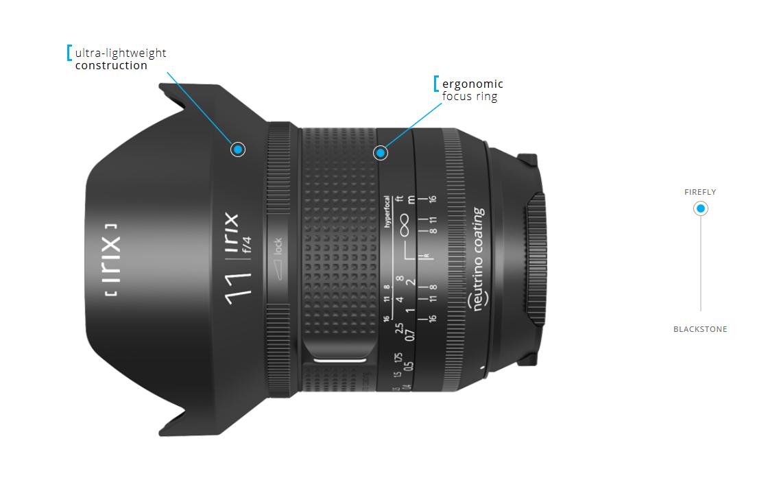 Irix 11mm Canon Firefly