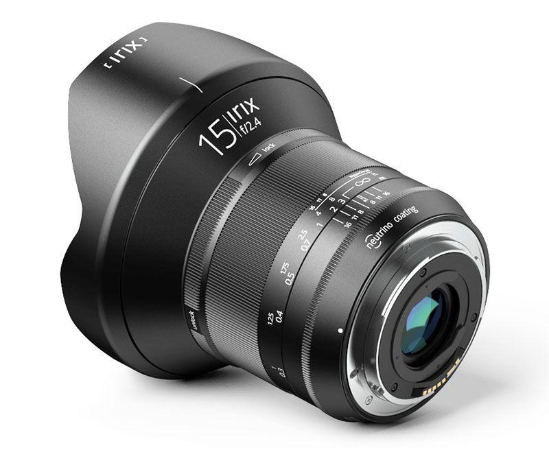 Irix 15mm f/2.4 Blackstone Wide Angle lens Nikon