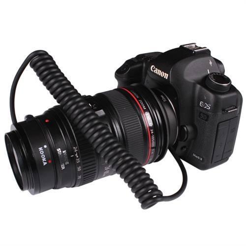 Anillo de inversión Macro AF Kooka KK-AT5 para Canon EF