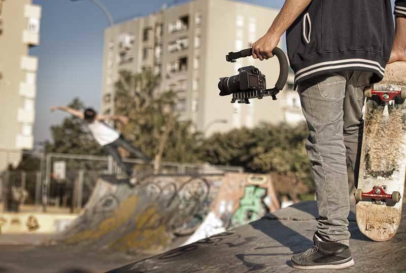Gloxy Movie Maker stabilizer for Canon VIXIA HF W10