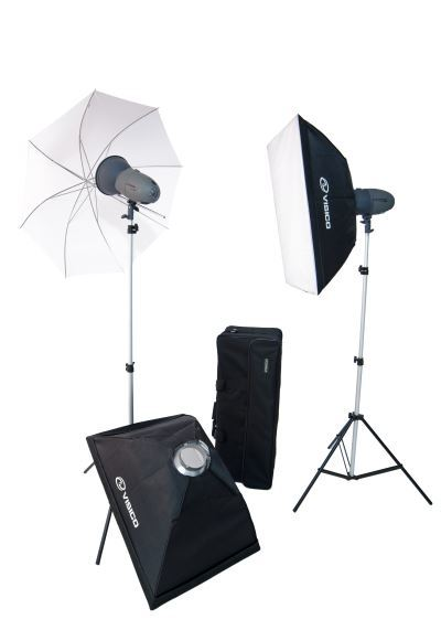 Visico VL-400 Soft Box Extra Studio Kit