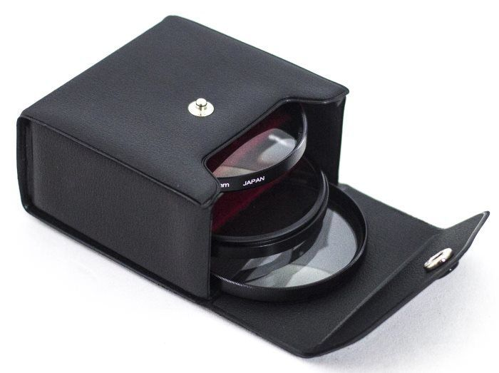 Kit de tres filtros Close-Up