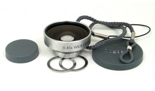 Wide Angle Magnetic Conversion Lens for Nikon Coolpix A100