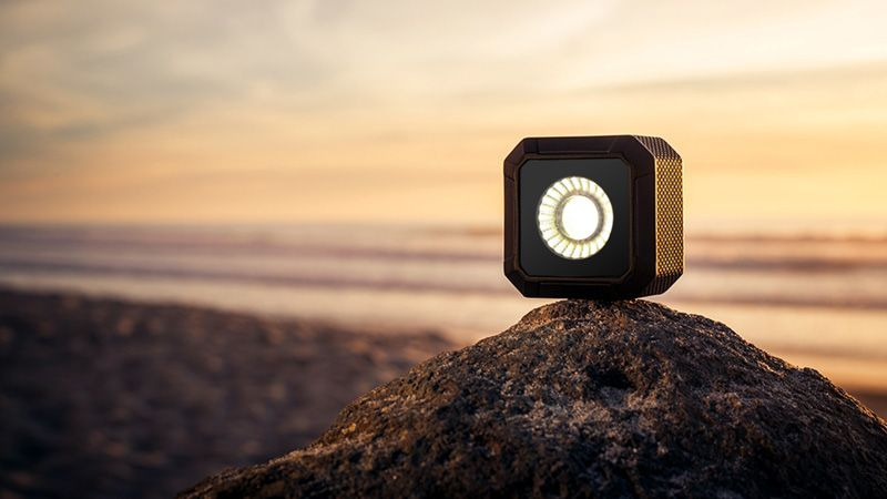 Kit 4x torches LED Lume Cube Argent