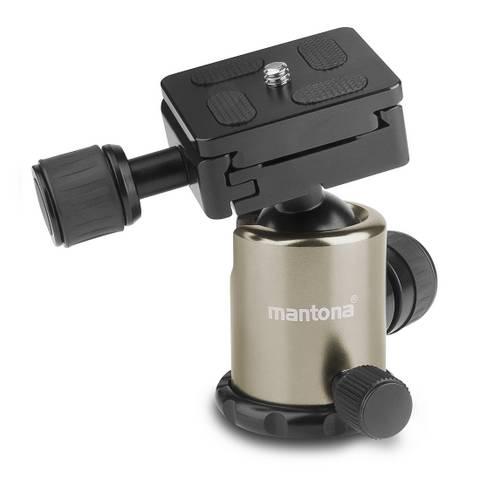 Mantona Titanium Carbon 2 in 1 159cm Tripod