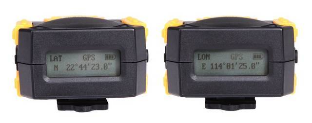 Receptor GPS Marrex MX-G10M para Canon (LCD)