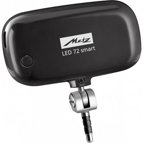 Metz LED-72 Mecalight para smartphone Negro