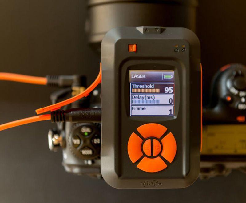 Miops Smart Disparador Cámara y Flash con Smartphone Canon C2