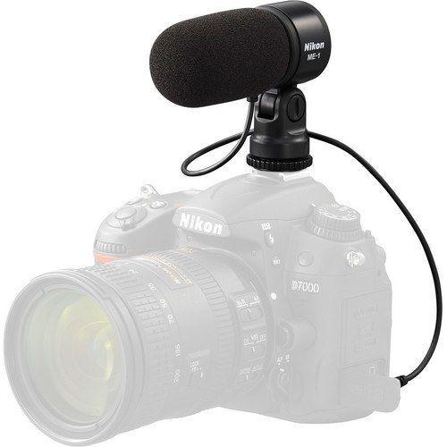 Micrófono Nikon ME-1 para Nikon D3100