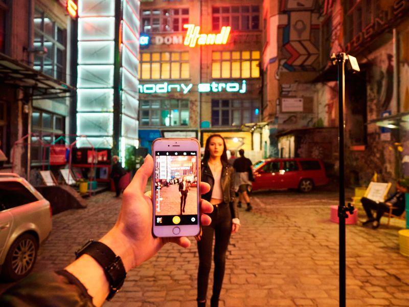 Flash Quadralite A1 inalámbrico para smartphone