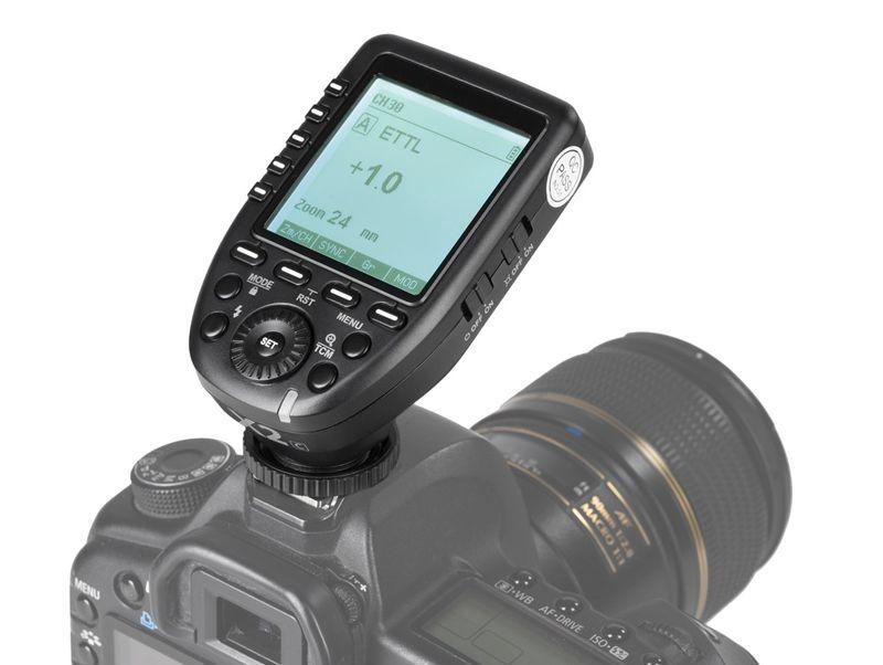 Disparador Quadralite Navigator X2 para Nikon