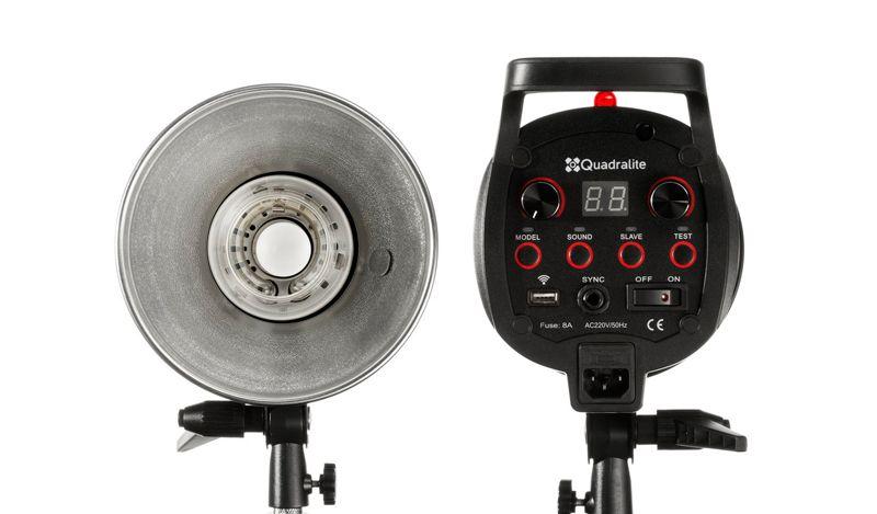 Flash de estudio Quadralite Pulse Pro 600