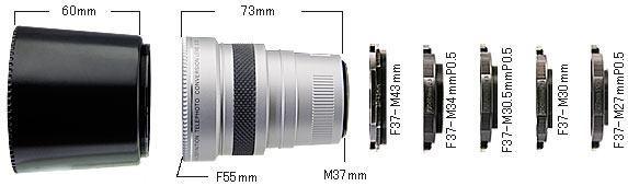 Raynox HD-2200 Pro LE+ 2.2x Telephoto lens