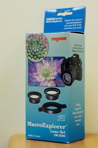 Raynox CM-2000 1.5x and 2.5x MacroExplorer Lens Set