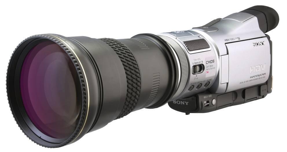 Lente Conversora Telefoto Raynox DCR-2025 Pro 2.2x