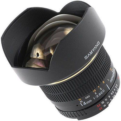 Samyang 14mm f/2.8 for Kodak DCS Pro 14n