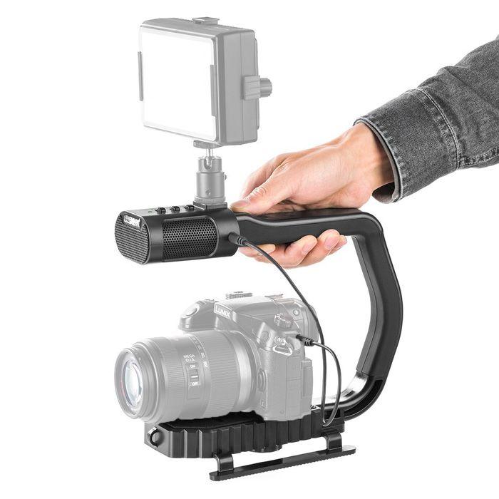 Estabilizador con micrófono integrado Sevenoak MicRig Stereo