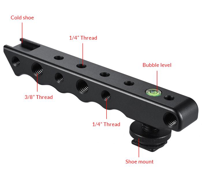 Sevenoak SK-H02 Video Stabilizing Hot-Shoe Handle