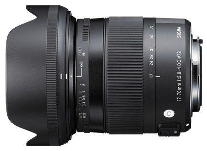 Sigma 17-70mm f2.8-4 DC OS HSM AF Macro Lens Canon
