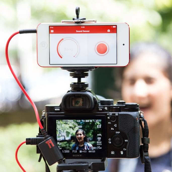 Triggertrap Mando Smartphone para Nikon, Fuji y Kodak DC0