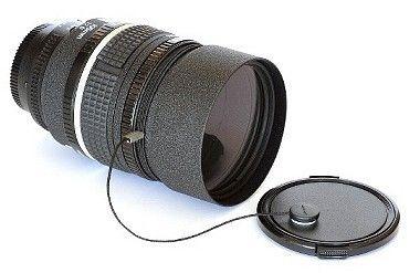 Tapa protectora para objetivo (elegir diámetro)