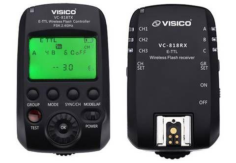 Visico 5 Wireless TTL Studio Flash