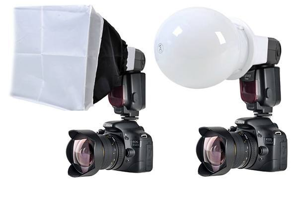 Kit Flash Gloxy GX-F990 + 7 Accesorios Strobist