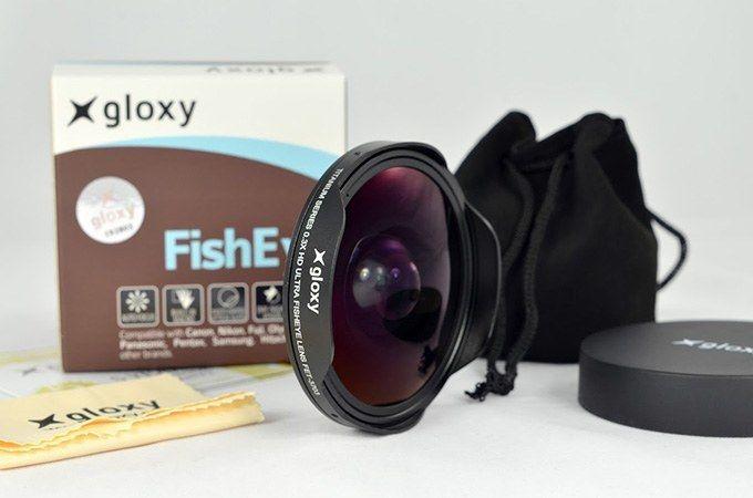 Gloxy Fish Eye Converter Lens FET-3703