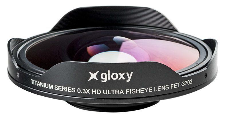 Lente ojo de pez Gloxy 0.3x FET-3703