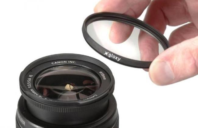 Kit de tres filtros ND4, UV, CPL
