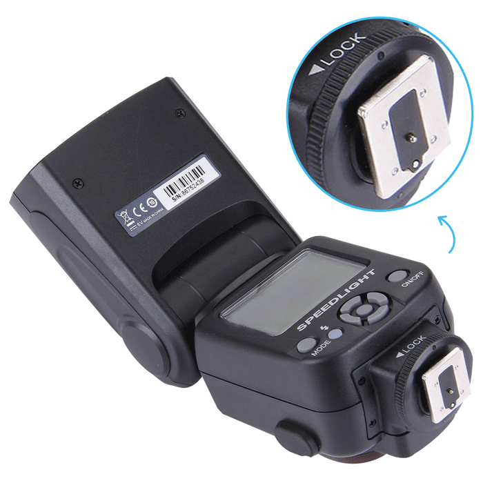 Extended Range Digital Flash for Fujifilm FinePix S5 Pro