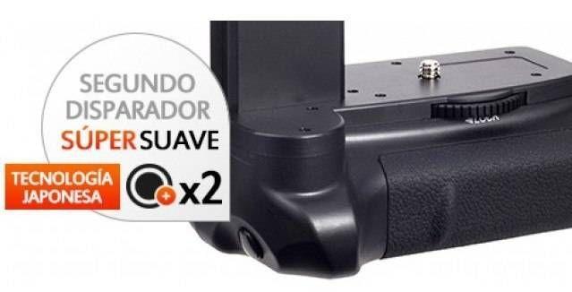 Kit de Empuñadura Gloxy GX-1100D + 2 Baterías LP-E10