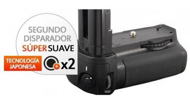 Kit de Empuñadura Gloxy GX-D80 + 2 Baterías EN-EL3